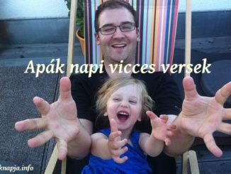 apák napi vicces versek