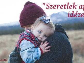 szeretlek apa idézetek