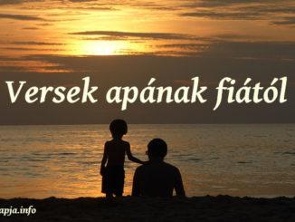 vers apának fiától