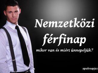 nemzetközi férfinap